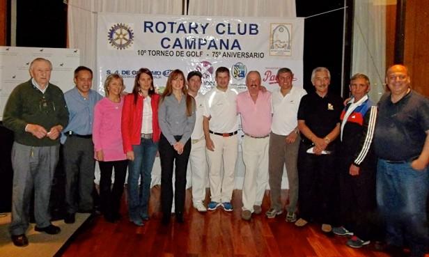 ROTARY CLUB CAMPANA   TORNEO DE GOLF