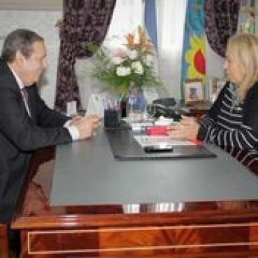 Osvaldo Rial participó junto a la intendenta Stella Maris Giroldi
