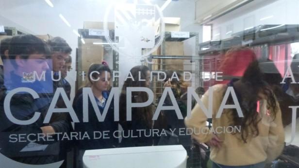 Alumnos del Colegio Armonía visitaron la Biblioteca Pública Municipal y el Archivo Histórico