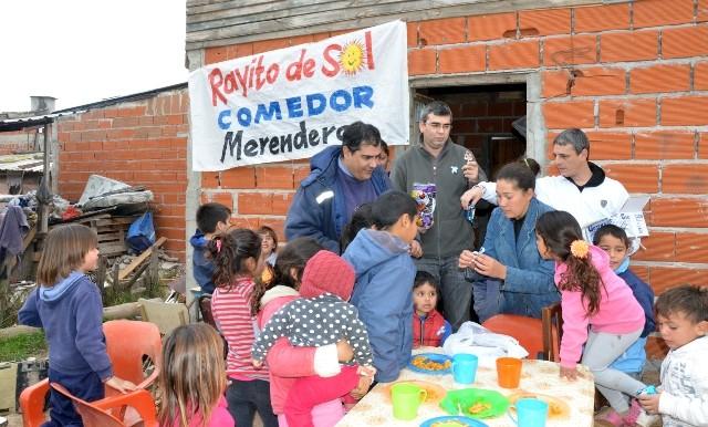 Raid solidario de la agrupación Julio A. Melo en la jornada del sábado en nuestra ciudad