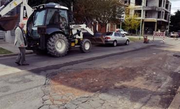 Con una inversión de $3,5 millones, el Municipio comienza el lunes un importante plan de bacheo