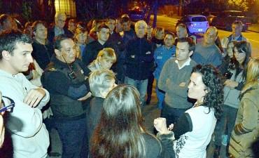 El Intendente se reunió con vecinos del barrio Banco Provincia para buscar mejoras en la seguridad
