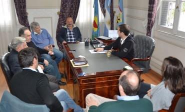 Nueva reunión entre el Intendente y los presidentes de los bloques del HCD