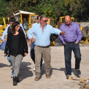Concejales visitaron los corralones municipales