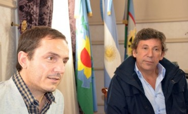 El intendente se reunió con su par Gustavo Posse, para establecer lazos entre los municipios
