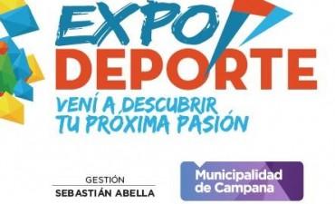 Este domingo se realiza Expo Deportes