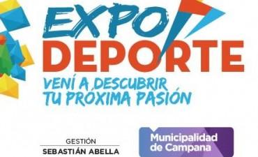 Este domingo se realizará la Expo Deporte