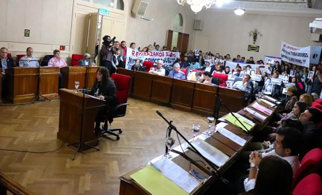 El HCD aprobó declarar Persona no grata a los condenados por delitos de lesa humanidad