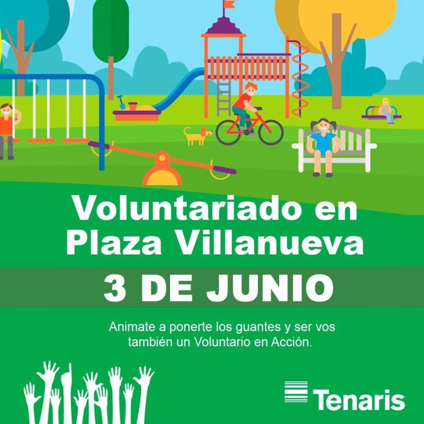 Tenaris informa que el Voluntariado se pasó por cuestiones climáticas al sábado 3 de junio.