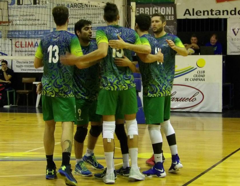 La División de Honor de Caballeros supero como local 3-0 al Club Italiano