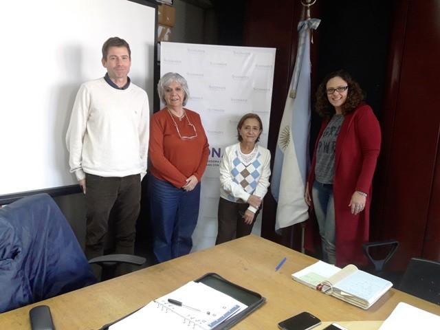 Funcionarios de Campana mantuvieron un importante encuentro con CONADIS