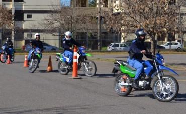 Oficiales de la Policía Local se capacitan para conformar un grupo motorizado