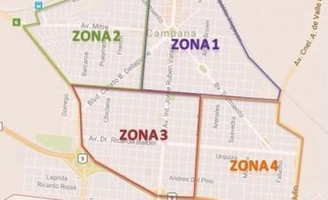 El Municipio informa el cronograma para el retiro de montículos verdes
