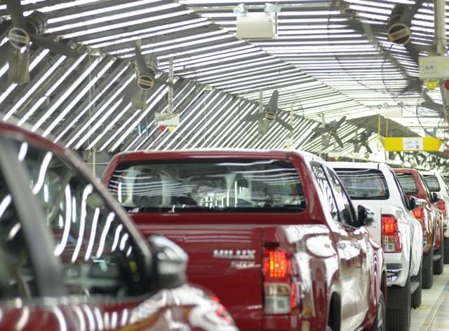 Toyota Argentina aumenta un 14% la producción de su planta en Zárate, superando el máximo de su capacidad instalada