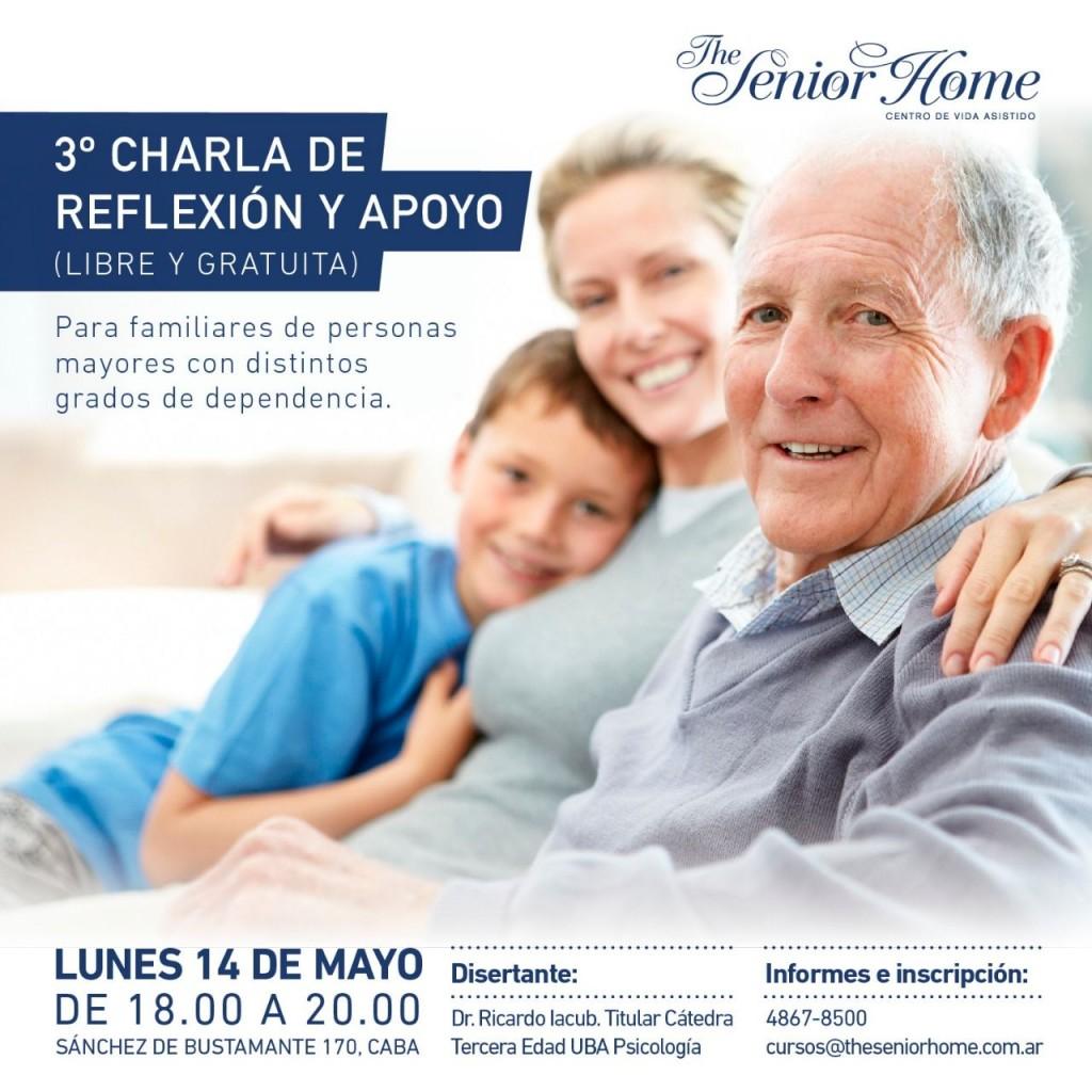 Invitan a una charla gratuita para familiares de personas mayores con distintos grados de dependencia
