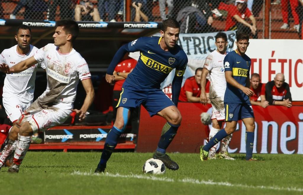 Boca Juniors y Huracán empataron 3 a 3