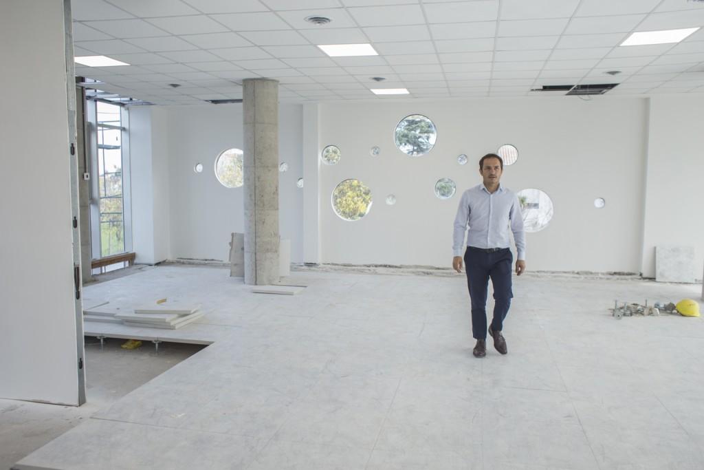 Biblioteca municipal: comenzó la obra de infraestructura tecnológica y eléctrica en el nuevo edificio