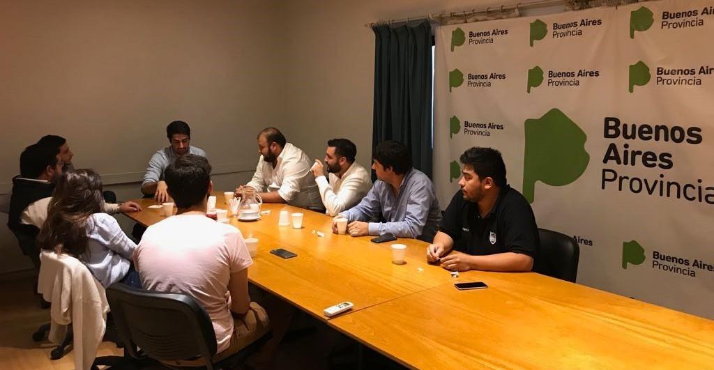 Campana participó de un encuentro de directores de Juventud