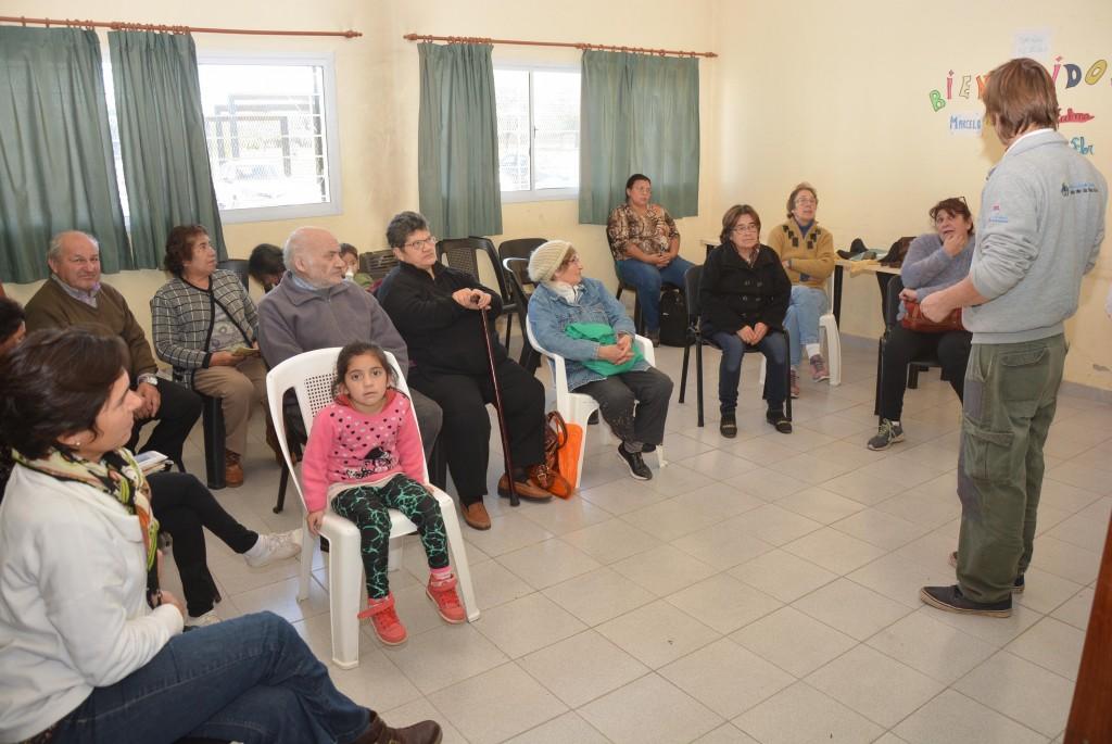 Los talleres del programa Pro-Huerta continúan hoy