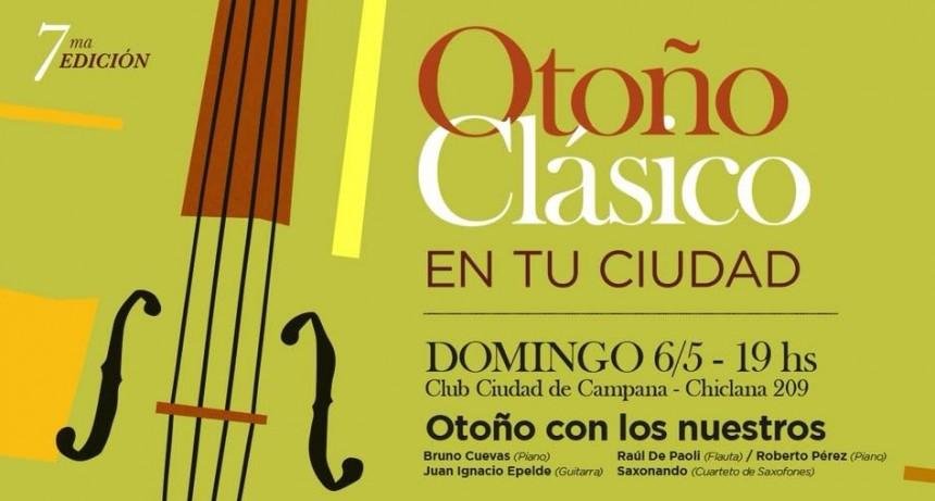 """Con talentos locales, este domingo comienza la 7° edición de """"Otoño Clásico en tu Ciudad"""""""