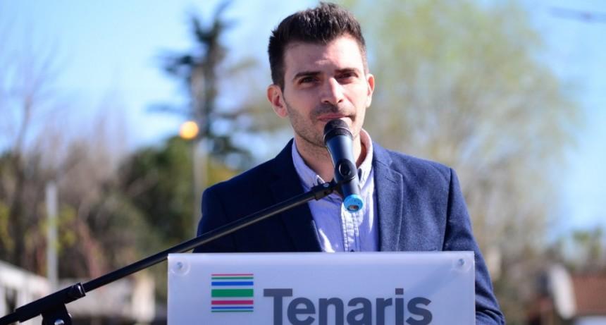Luis Grieco se refirió a un nuevo Voluntariado de Tenaris