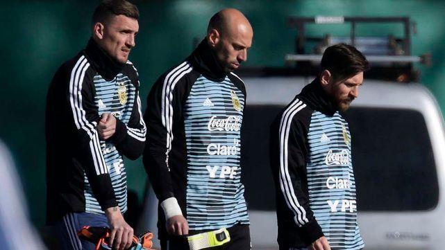 Armani: Messi es un monstruo y compartir un entrenamiento es un privilegio para mì