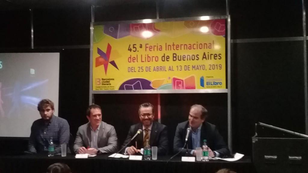 Visitamos la 45ª Feria Internacional del Libro
