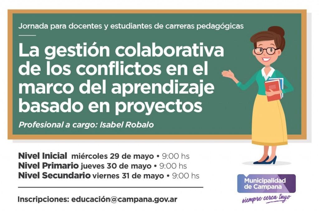 Se realizará una jornada para docentes y estudiantes de carreras pedagógicas
