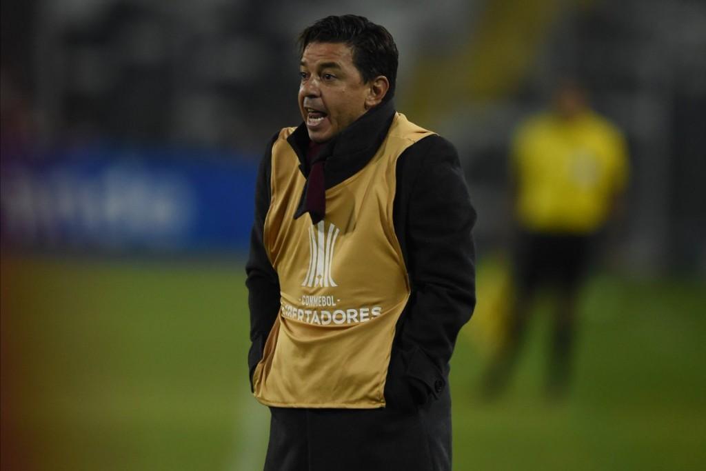 River viajó a Brasil para jugar por la Recopa Sudamericana ante Paranaense