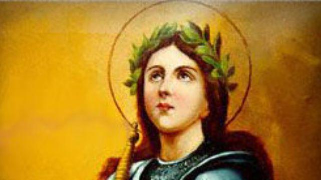 La iglesia recuerda hoy a Santa Juana de Arco