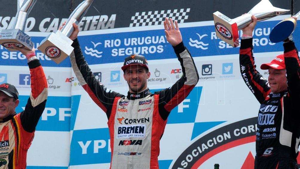 Rossi festejó en Rosario su primera victoria del año