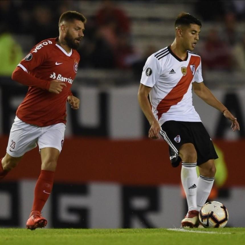 River Plate empató con Internacional de Porto Alegre 2 a 2