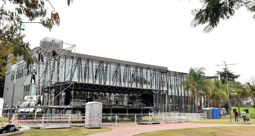 El Parque Urbano se prepara para recibir el AcercArte