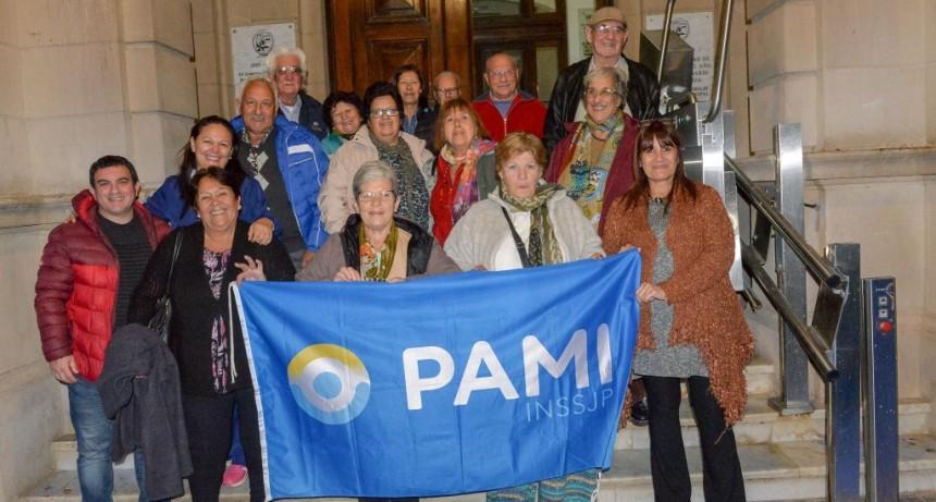 Afiliados de PAMI viajaron gratis a San Luis