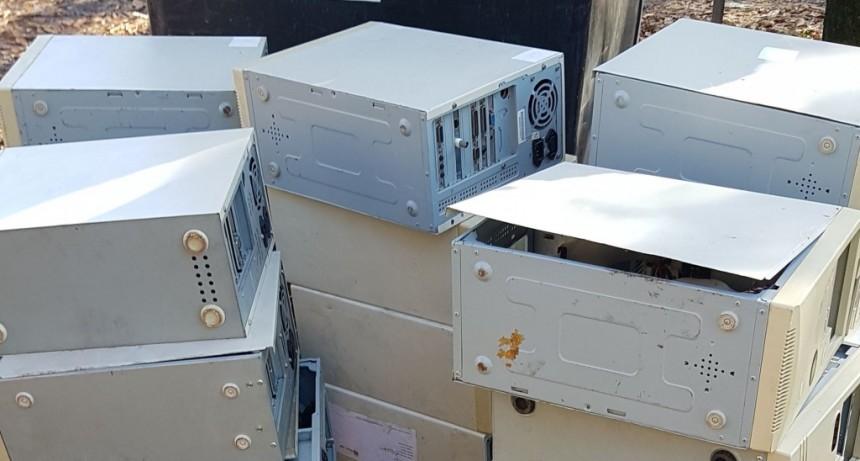 El Municipio trabaja para reciclar residuos electrónicos