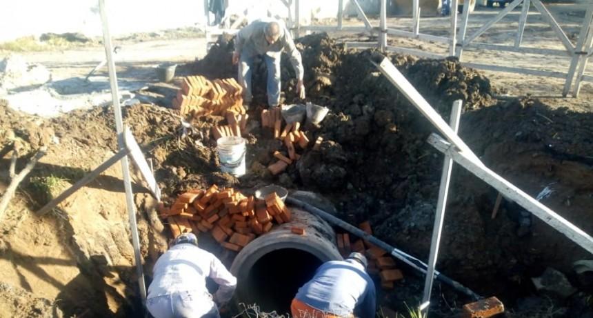 Se completaron los trabajos de la red pluvial en San Felipe