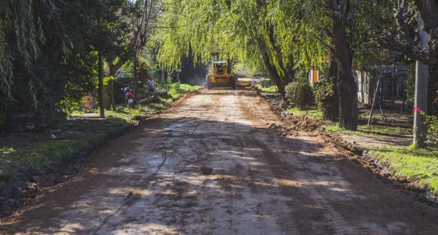Sigue las mejoras en las calles de Otamendi