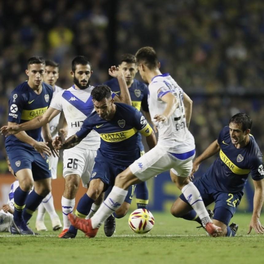 Boca Juniors derrotó 5 a 4 a Vélez Sarsfield por penales y clasificó a semifinales de la Copa de la Superliga