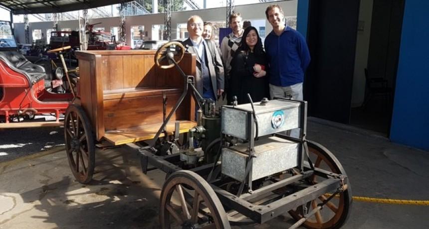 Una comitiva de la Fundación Cultural Japonesa visitó Campana