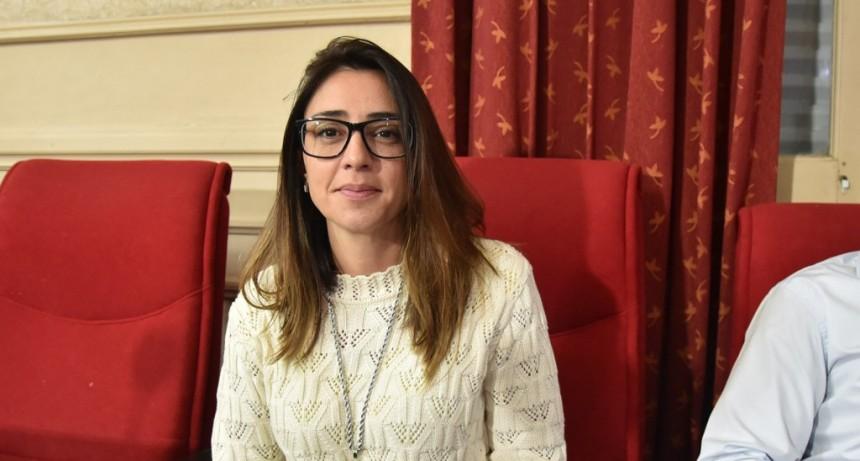La concejal Casaretto propuso que Campana se adhiera a la Ley Micaela