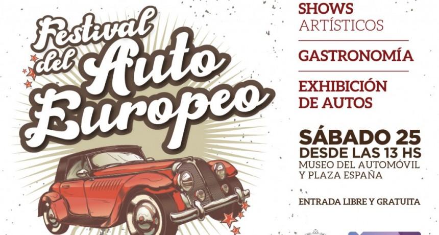 """Se viene el """"Festival del auto europeo"""""""
