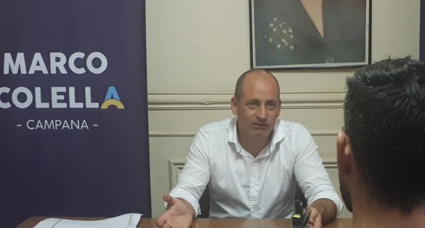 Marco Colella propone crear un equipo de abordaje integral ante conductas suicidas