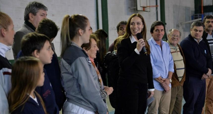 MARÍA EUGENIA VIDAL ANUNCIÓ LA TARIFA SOCIAL DE ELECTRICIDAD PARA CLUBES DE BARRIO