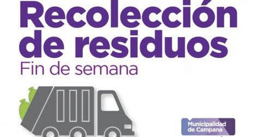 Hoy no habrá recolección de residuos