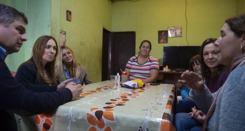 MARÍA EUGENIA VIDAL Y CAROLINA STANLEY VISITARON EL PARTIDO DE SAN MARTÍN