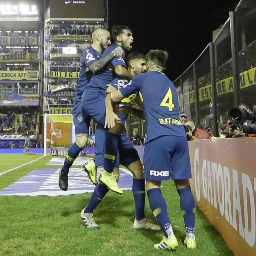 Boca Juniors venció a Argentinos Juniors y jugará la final de la Copa de la Superliga