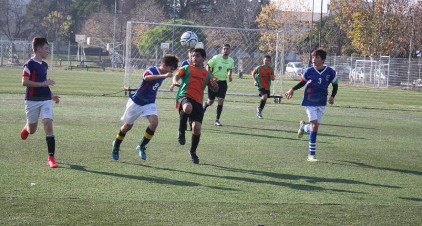 Se disputó la etapa local de Futsal y Fútbol playa