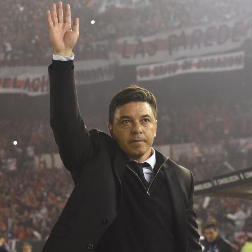 Marcelo Gallardo: Los jugadores tienen un don especial para este tipo de partidos