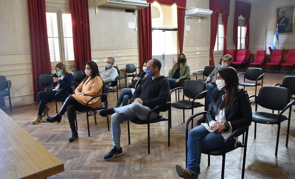 Concejales y personal del HCD participaron de una charla informativa sobre Covid-19