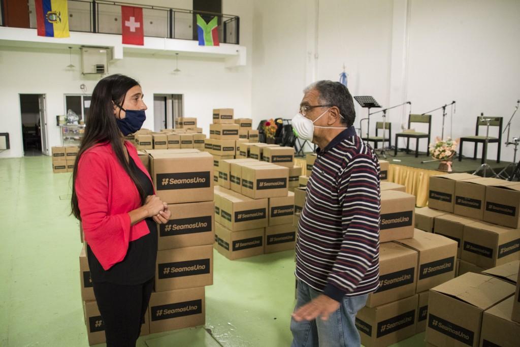 Con la coordinación de Municipio, el Consejo Pastoral Evangélico distribuirá alimentos